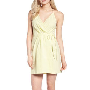 ASTR Wrap Mini Dress